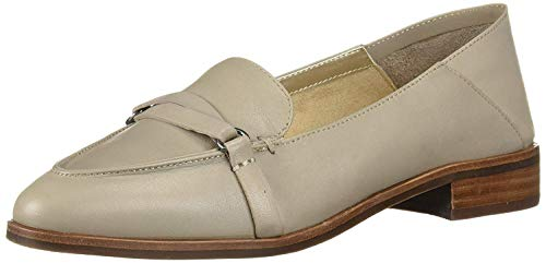 Price comparison product image Aerosoles Women's South East Loafer Flat,  Grey Leather,  8 M US