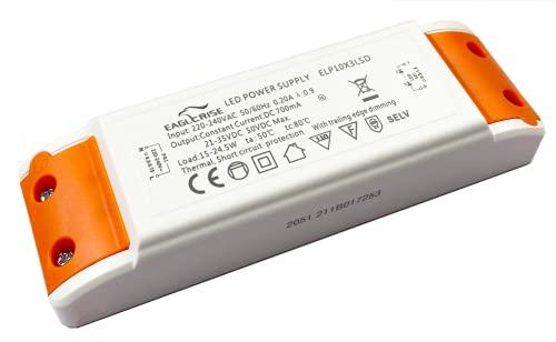 HuaTec Eaglerise LED Trafo Dimmbar 700mA 15W - 24W LED Netzteil Driver Treiber Transformator Konstantstrom für Lampen Leuchtemittel