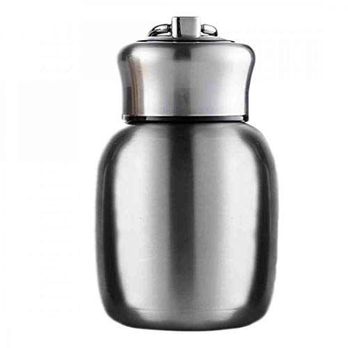 Small Mini Vacuum Insulated Water Bottle Portable Leakproof Travel Mug...