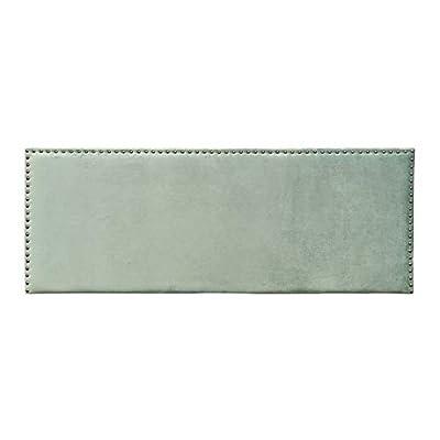 Esta fabricado con: tejido de terciopelo. Sus medidas son: 160x6x60 cm. Encaja en ambientes de estilo: contemporáneo, clásico, moderno. Un producto recomendado para uso en dormitorio. Material: Terciopelo (100% poliéster). Relleno: Foam. Gramaje del ...