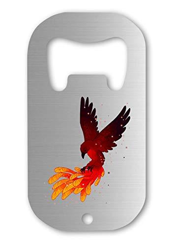 Luckyprint Phoenix Rebirth Taking Flight Mythic Bird Flaschenöffner