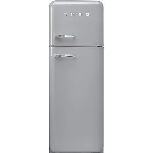 Smeg FAB30RSV3 réfrigérateur-congélateur Autonome Métallique 294 L A+++ - Réfrigérateurs-congélateurs (294 L, SN-T, 4 kg/24h, A+++, Nouvelle zone compartiment, Métallique)