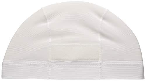 FOOTMARK 101122 Swimming Cap, Dash Magic Swimming Cap, White (01), One Size Fits All