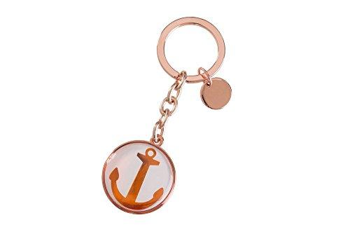 Gift Company Cabochon Schlüsselanhänger Anker kupfer