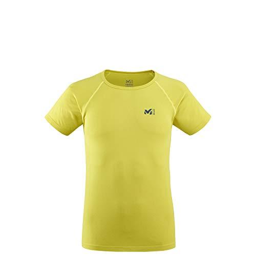 Millet - Lkt Seamless Ts SS - Sport-T-Shirt für Herren - Atmungsaktiv - Wandern, Running, Trekking, Lifestyle - Gelb