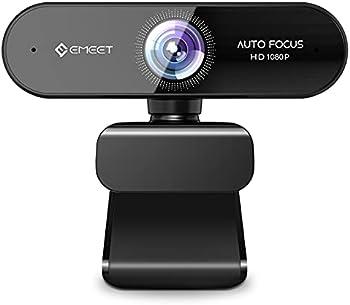 eMeet Nova AutoFocus View 1080P Webcam with Microphone