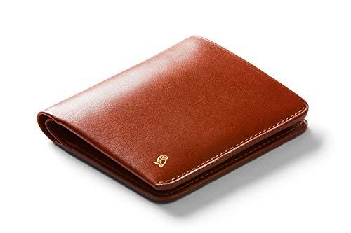 Bellroy Herren Note Sleeve Wallet aus Premiumleder - Designers Edition - Burnt Sienna