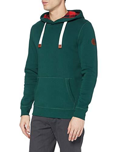 TOM TAILOR Herren Kapuzen Sweatshirt, 11490-Stroke Green, M