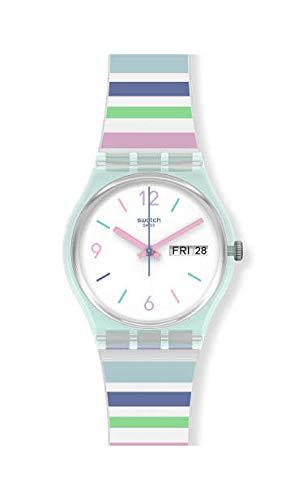 Orologio Solo Tempo Swatch Pastel Zebra GL702