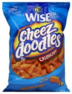 Wise Cheez Doodles, Crunchy, 9 oz, (pack of 3)
