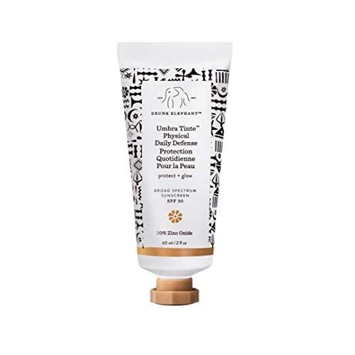 Drunk Elephant Umbra Tinte Physical Daily Defense - Tinted Moisturizer and Broad Spectrum SPF 30 Sunscreen - 2 Ounces