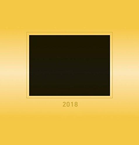 Foto-Bastelkalender gold 2018 - Bastelkalender / Do it yourself calendar (21 x 22) - datiert - Kreativkalender