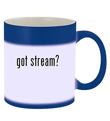 got stream? - 11oz Magic Color Changing Mug, Blue