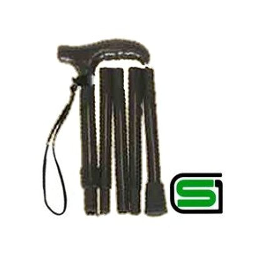 慢な製造発生器超軽量オールカーボンコンパクト折りたたみ伸縮杖ロング/ブラックPC23