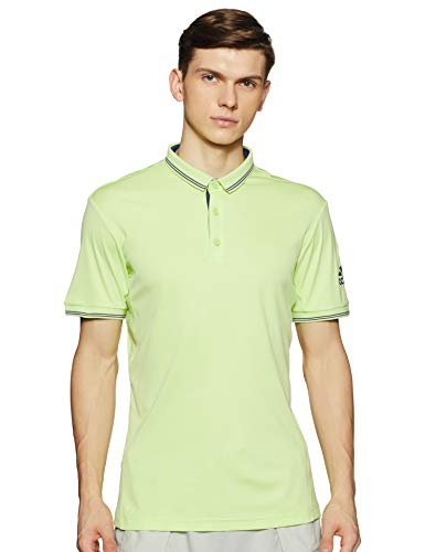 adidas CV4694 Polo Homme, Vert (Sefrye) , FR : S (Taille Fabricant : S)