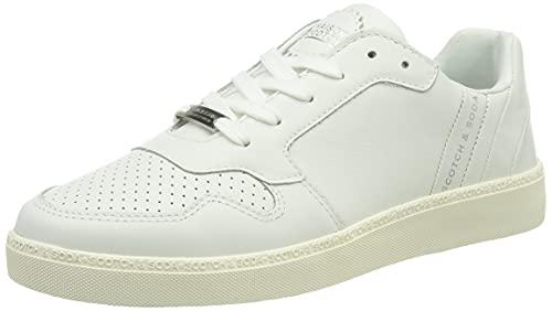 SCOTCH & SODA FOOTWEAR Damen Laurite Sneaker, White, 40 EU