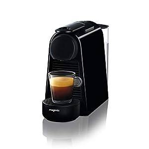 Nespresso Essenza Mini Coffee Machine, Pure Black Finish by Magimix