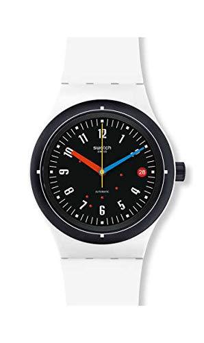Swatch Reloj Analógico para Unisex Adultos de con Correa en Silicona SUTW405