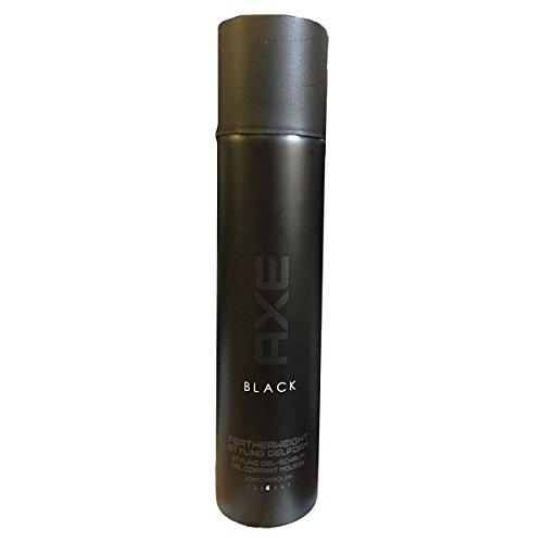 AXE Haarstyling Gel-Schaum Black, 3er Pack (3 x 175 ml)