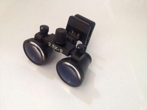 Zgood Portable Binocular dentale chirurgico lenti di ingrandimento 2.5x dentista occhialini mediche Magnifier W/Clip