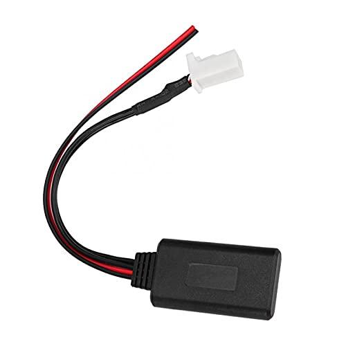 RJJX 8Pin Bluetooth 5.0 AUX AUX Inalámbrico Cable de Audio estéreo Receptor de música Adaptador Cable Fits para Suzuki Swift/Vitara/Jimny/Audio