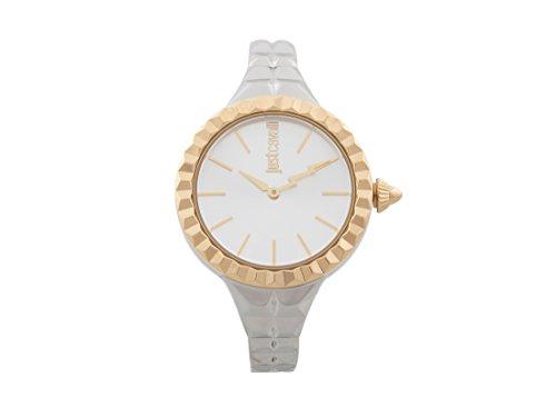 Just Cavalli Reloj Analógico para Mujer de Cuarzo con Correa en Acero Inoxidable JC1L002M0055