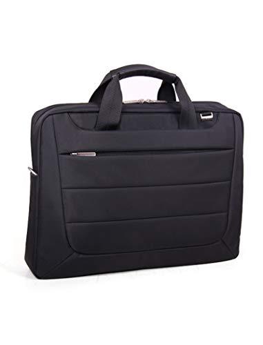 Laptop Shoulder Bag Carry Case 15.6 Inches Black - Mens Messenger Bags Laptops Computer 15.6' Briefcase