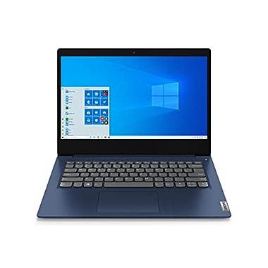 Lenovo IdeaPad 3 Laptop, 14.0″ FHD (1920 x 1080) Display, AMD Ryzen 5 5500U Processor, 8GB DDR4 RAM, 256GB NVMe TLC SSD Storage, AMD Radeon 7 Graphics, Windows 11 Home, 82KT00GVUS, Abyss Blue