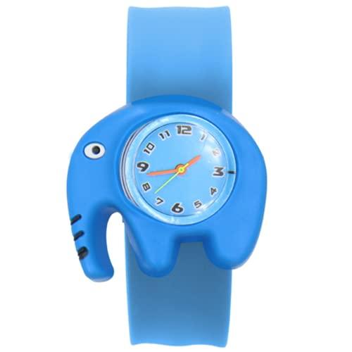 Reloj de bebé 3D dibujos animados niños relojes de pulsera reloj de cuarzo para niñas niños regalos niños relojes elefante