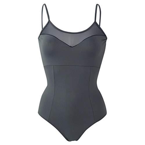 Intermezzo Leotard 31568 Bodymercos - Body de ballet para mujer (talla M), color gris