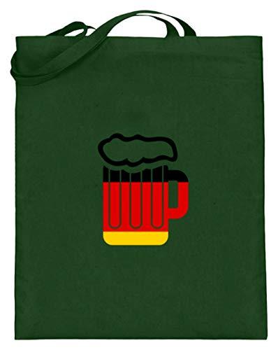 Jarra de cerveza con la bandera de Alemania, Oktoberfest, cerveza, Amor Múnich,...