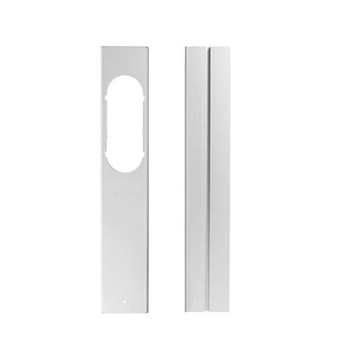 FensteradapterLokale, Mobile Klimaanlage Fensteradapter, 20 cm Flachmundschnittstelle Adapter Übergangsstück Eckig für Tragbare Klimaanlage Lüftungssystem