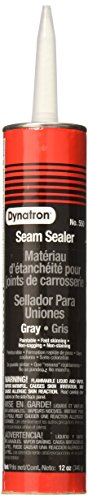 3M Dynatron Auto Seam Sealer Caulk, 550, Grey, 12 oz