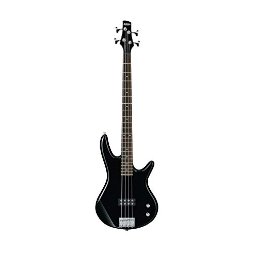 Ibanez GIO SR100 4-String Electric Bass Guitar (Black) Bundle with Blackstar FLY3 Bass Amplifier and 10-Feet Instrument Cable (3 Items)