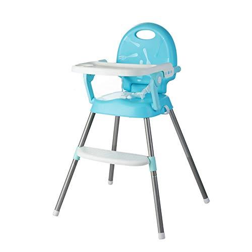 CXD Multifunktionale Tragbarer Kinderhochstuhl,Klappbarer Kinder Esszimmerstuhl Mit Herausnehmbarem Tablett Verstellbare Höhe Umweltschutzmaterial Baby Kinder Hochstuhl,1