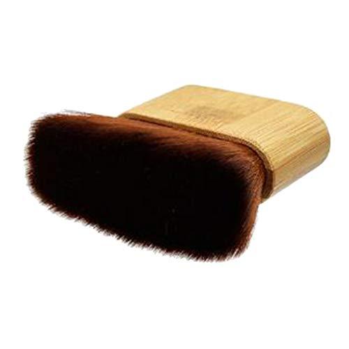 Nobranded Cepillo de limpieza facial para cuello de barbero suave, cepillo de limpieza para el cabello, cepillo de limpieza para el cabello, cepillo de limpieza
