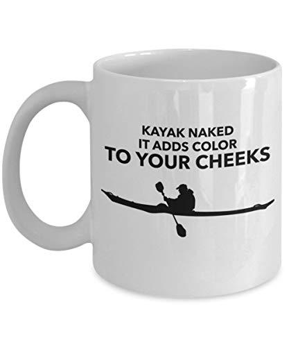 KAYAK desnudo, agrega color a tus mejillas 11 oz taza de café