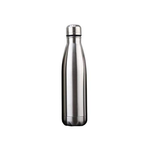 Decoración del hogar 1pc de gran capacidad de la botella de acero inoxidable termo de múltiples funciones al aire libre agua del recorrido de la leche del café termo-prueba de fugas a prueba de caídas