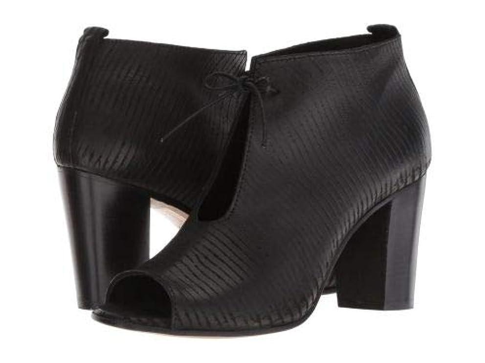 神秘的な拾う苦悩Cordani(コルダーニ) レディース 女性用 シューズ 靴 ブーツ アンクルブーツ ショート Borini - Black Texture Leather [並行輸入品]