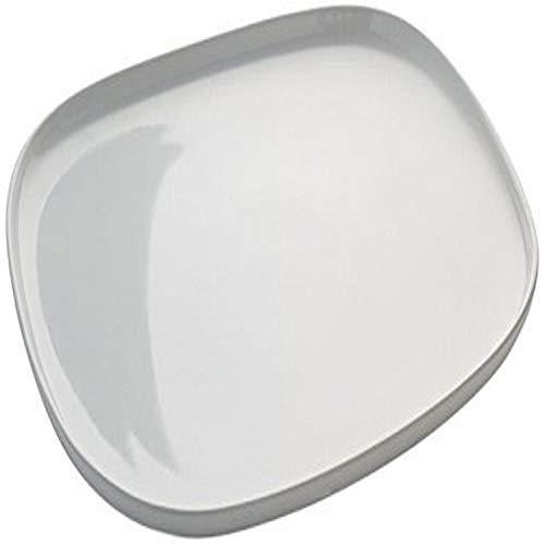 Alessi Reb01/22 Ovale Plat de Service en Céramique Stoneware