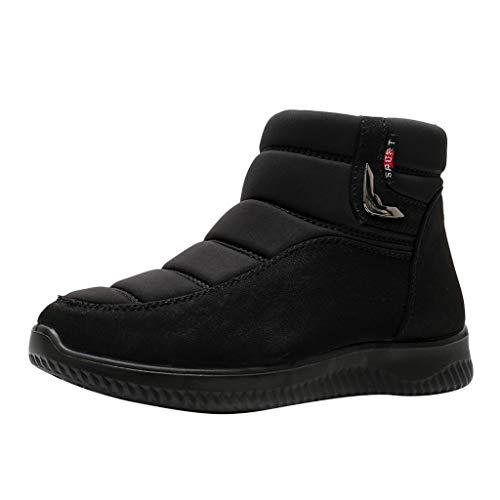 MrTom Botas de Nieve Mujer Impermeable Invierno Forro Calentar Plataforma Altas Lluvia Zapatos de Algodón Casual Botas de Senderismo Calzado Deportivo de Interior Al Aire Libre