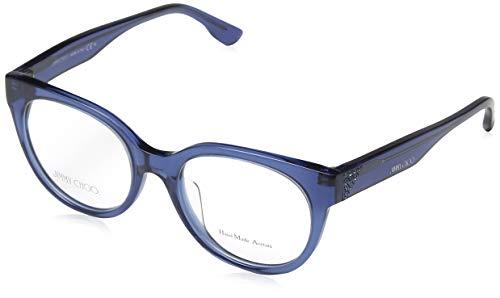 Jimmy Choo brilmontuur JC 143F 1GZ rechthoekig brilmontuur 50, blauw
