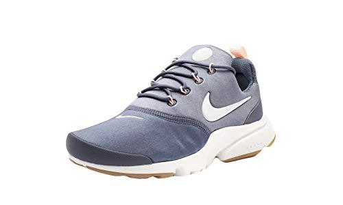 Nike Wmns Presto Fly, Zapatillas de Deporte para Mujer, Multicolor (Light Carbon/Summit White/Crimson Tint 012), 36 EU