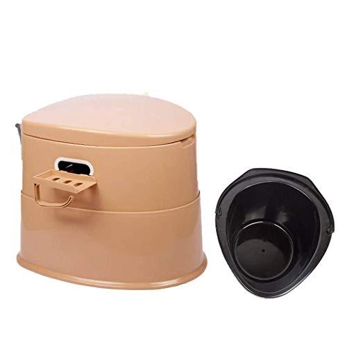 Pratico Comodo WC da Campeggio WC Portatile, WC per Adulti e Bambini, Adatto per emergenze all'aperto, Campeggio e Sonno, Viaggio in Auto (Colore: Grigio) TDF