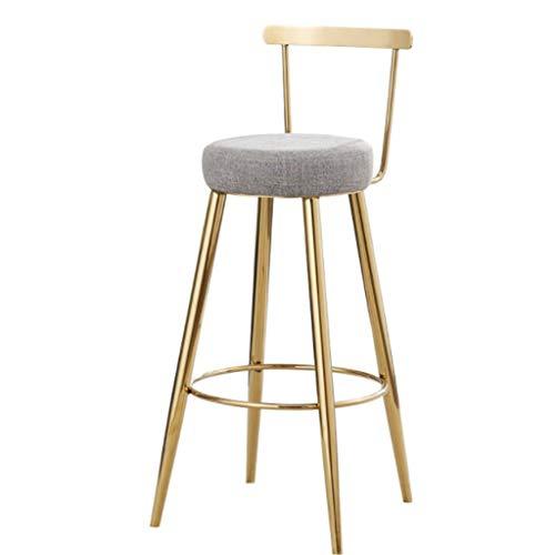 Taburetes de bar Taburetes de bar, juego de sillas de bar con respaldo, asientos grandes, taburetes de desayuno, for la isla de la cocina, barra, mostrador, banqueta alta, barra de lounge y banco