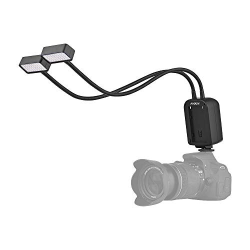 Andoer GN15 Macro Luce Flash Speedlite con Schermo LCD per Canon Nikon Panasonic Olympus Sony (Alpha) Fujifilm Pentax DSLR Fotocamera