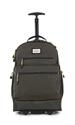 Antler Urbanite Evolve Backpack with Wheels | Trolley Bags | Rucksack with Wheels | Travel Backpack | Wheeled Laptop Bag | Hand Luggage Bag | Weekend Travel Bag | Cabin Backpack