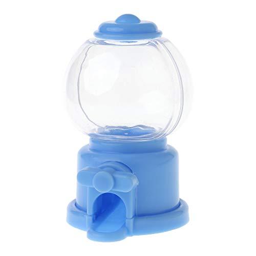 Rtengtunn Süßigkeitenmaschine, Praktische Candy Bank Dispenser Maschine Snacks Aufbewahrungsbox Münzgeld Für Kinder Babyspielzeug - Blau