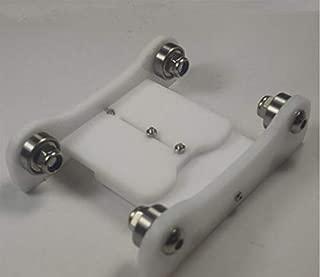 Xligo White Color arylic Printrbot Adjustable Spool Coaster 3 D Printer Filament Holder Spool Holder Reprap Ultimaker 3 D Printer DIY