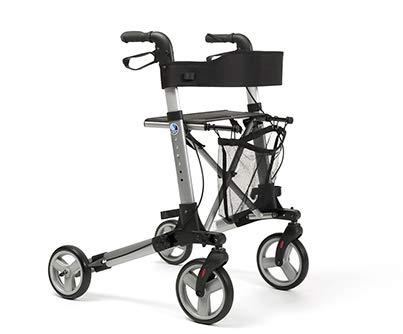Rollator für ältere Menschen Leichtgewichtrollator faltbar | Maximale Belastbarkeit 130 kg | Qualitätsgarantie | QUADRI-light Vermeiren